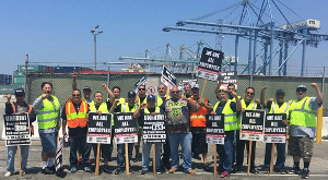 #Justice4PortDrivers. Scioperi nei porti di Los Angeles e Long Beach