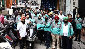 Deliveroo global strike