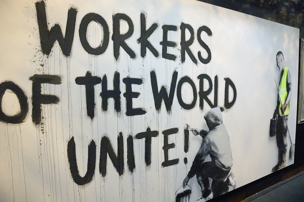 workers of the world unite bristol city museum