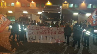 Sciopero All Trucks e Trasportitalia